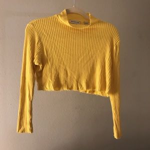 Ann Taylor yellow turtleneck